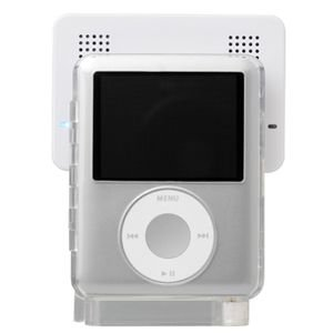 第3世代iPod nano 専用アンプ内蔵ポータブルスピーカー