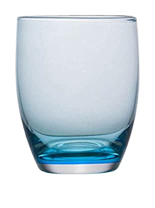 Guy DeGrenne Set of 6 9.8-Oz. Allegro Tumblers, Blue Mint