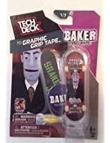 NewRay New Tech Deck Graphic Grip Tape Andrew Reynolds Baker Skateboards 1/7