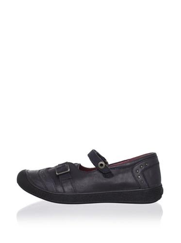Kickers Kid's Mary Jane Sneaker (Little Kid) (Black)