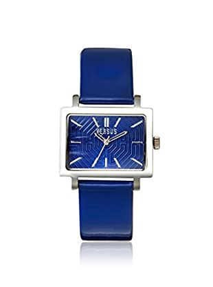 Versus by Versace Women's 3C62600000 Dazzle Blue Leather Watch