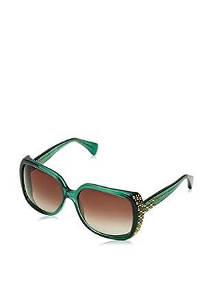 Alexander McQueen Occhiali da sole AMQ4211/S (60 mm) Verde