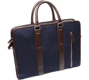 [AUSTIN LEVI] ビジネスバッグ 高級バリスティックナイロン×牛革 メンズ