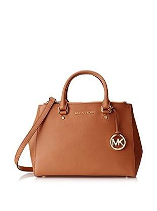 MICHAEL Michael Kors Women's Sutton Satchel, Luggage