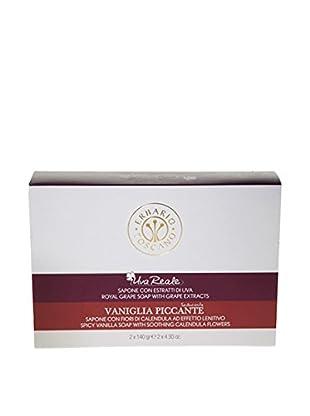 Erbario Toscano 2-Piece Royal Grape & Spicy Vanilla Soap Duo Gift Set