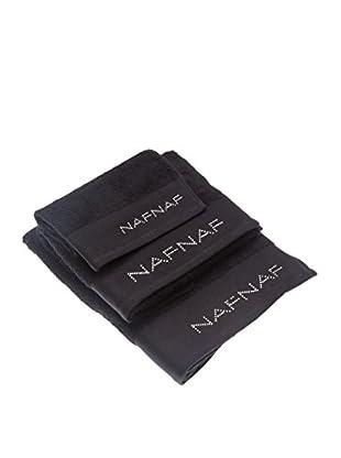 Naf Naf Linge de Maison Handtuch 3er Set Diamond