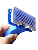 Merapuppy Hight Quality Plastic Self Cleaning Slicker (Small)