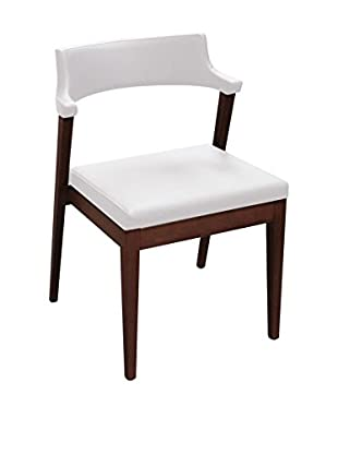 Domitalia Lyra Chair, White Leather