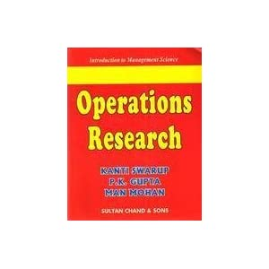Operations Research,Swarup