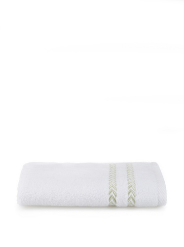 Lenox Pearl Essence Washcloth (White/Pistachio)
