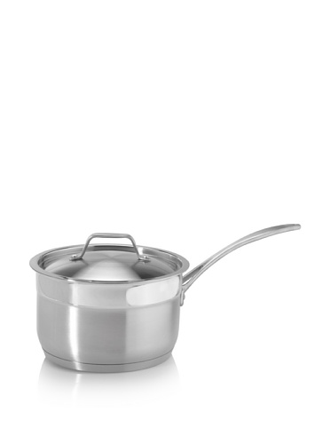 BergHOFF Earthchef Professional Stainless Steel 3-Quart Covered Saucepan