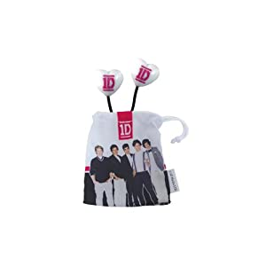 1D Earbuds with Pink Logo