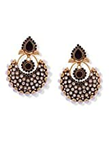 Brilliant Brown Polki Earrings