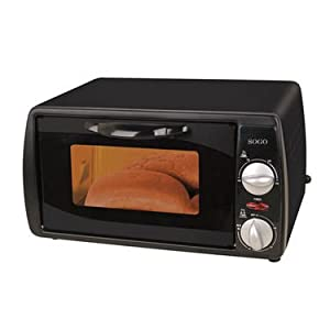 Sogo SS-10310 Mini Electric Oven Toaster - Black