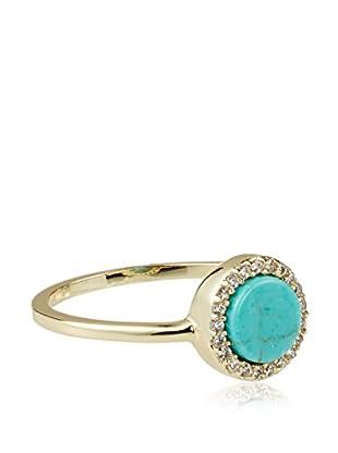 Chloe & Theodora Turquoise Inlay Ring