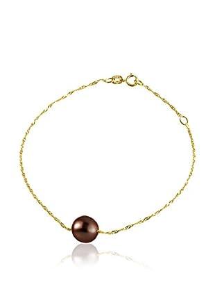 Compagnie générale des perles Braccialetto Venetian Rosso Scuro