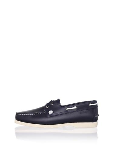 Sebago Men's Wharf Boat Shoe (Navy)