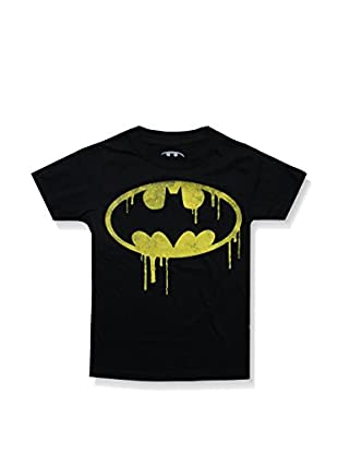 DC Comics T-Shirt Manica Corta Batman Dripping Logo
