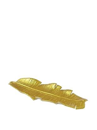 Ceramic Banana Leaf Table Décor
