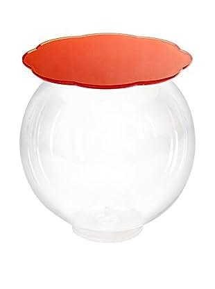 Iplex Design Beistelltisch Boollino orange/transparent