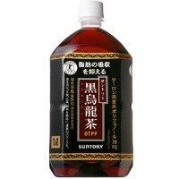 【クリックでお店のこの商品のページへ】黒烏龍茶 1L×12