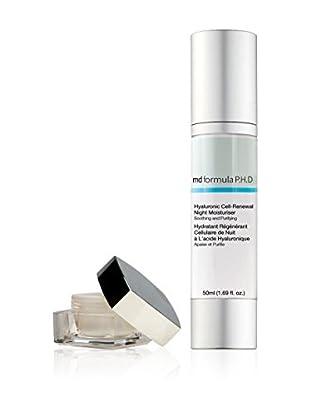 MD FORMULA  Beauty-Set 2 tlg. Eye Hyaluron Serum + Hyaluronic Cell Renewal Night Moisturiser
