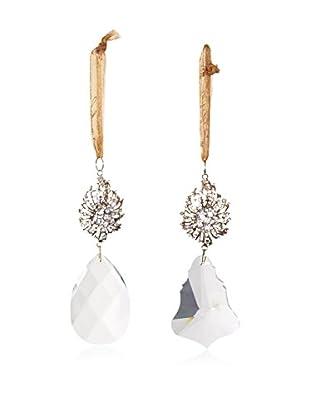 Sage & Co. Set of 2 Crystal Brooch Ornaments