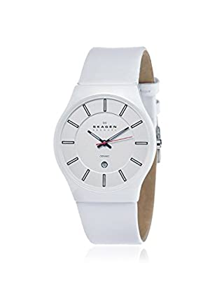 Skagen Men's 233XLCLW Ceramic White Watch