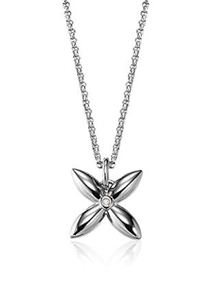 Esprit Collar Thriving Flora Plateado
