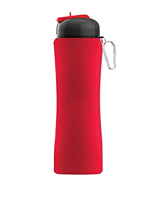 AdNArt Sili-Squeeze Hydra Bottle with Sport Lid (Red)