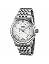 Oris Artelier Small Second Pointer Date Automatic Silver Dial Mens Watch 744-7665-4051Mb