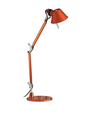 Artemide Tischlampe Artemide Tolomeo Micro Con Base orange