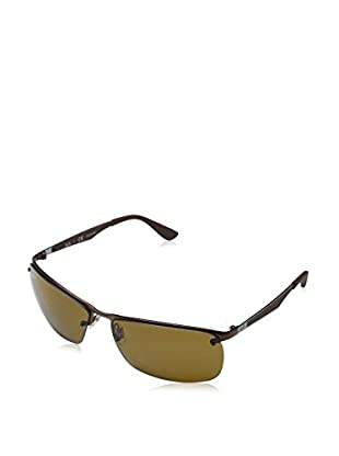 Ray-Ban Gafas de Sol Polarized 3550-012/ 83 (64 mm) Marrón