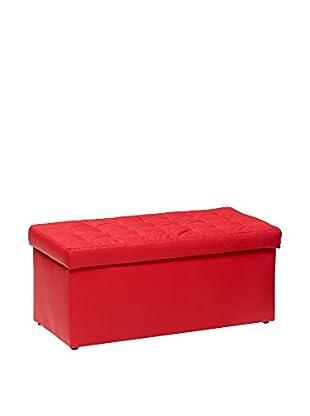 Unokids Sitzbank mit Stauraum Toy rot