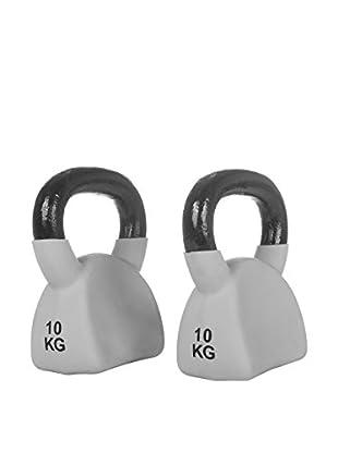 FYTTER Kugelgewicht 10 kg Akb10B grau/schwarz
