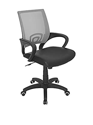 LumiSource Office Chair, Silver