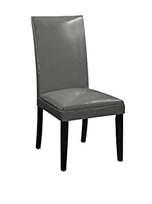 Bassett Mirror Company Presto Classic Parsons Chair, Metal