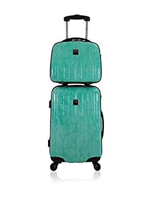 France bag Set Hartschalen Trolley + Kulturbeutel 141626