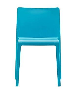 Pedrali Stuhl 2er Set Volt 670 blau