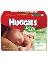 Huggies Natural Care Baby Wipes - Unscented - 320 ct