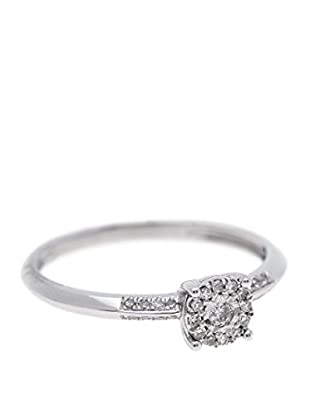 Rhapsody Anillo Diamonds (Plateado)
