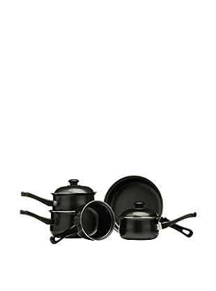 Premier Housewares Töpfe und Pfannen 7 tlg. Set schwarz