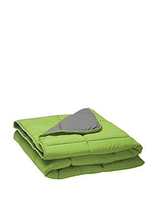 Pikolin Home Relleno Nórdico Fibra Reversible 300 Gr/M2 (Verde / Gris)