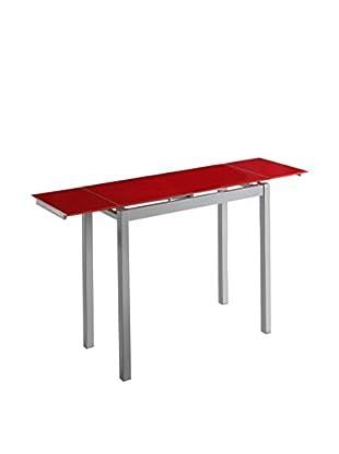 kitchen Furniture Mesa Extensible Rojo