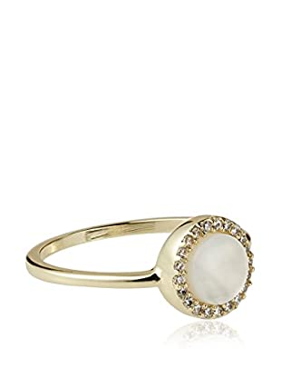 Chloe & Theodora Mother of Pearl Inlay Ring