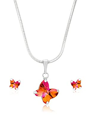 Swarovski Elements by Bohemian Love Story Set rosa 40 cm