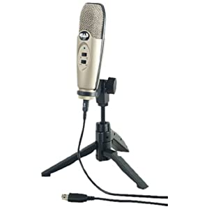 Classic USB Studio Recording Condenser Microphone by CAD