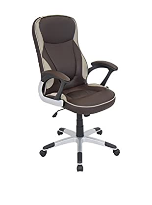 LumiSource Storm Office Chair, Brown