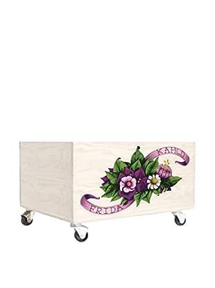 ReallyNiceThings Caja de Almacenamiento Frida Flowers