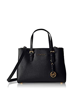 Michael Kors Bolso asa de mano Jet Set Travel Saffiano Medium Tote